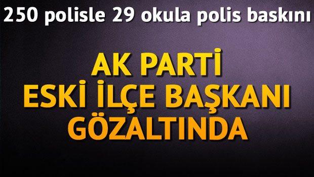 İzmirde Özel Okullara Operasyon
