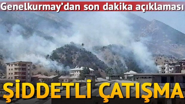 Şemdinli'de operasyon: 2 asker yaralı