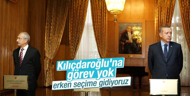 Kılıçdaroğlu'na görev yok