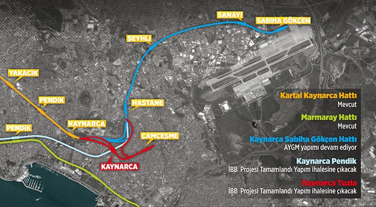 Metro hattına yenisi ekleniyor