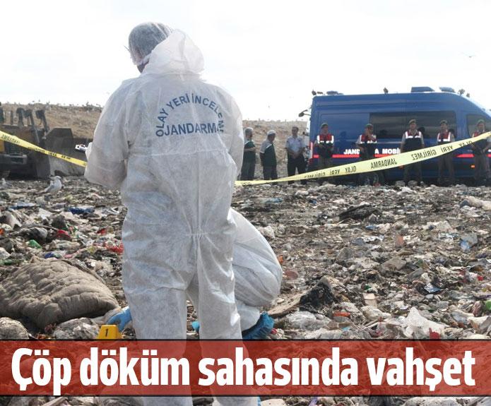 Çöp döküm sahasında kadın cesedi