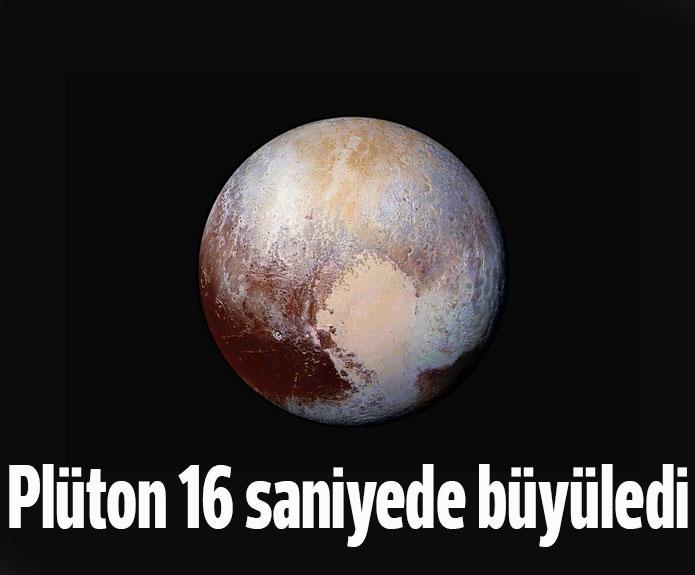 16 Saniyede Plüton