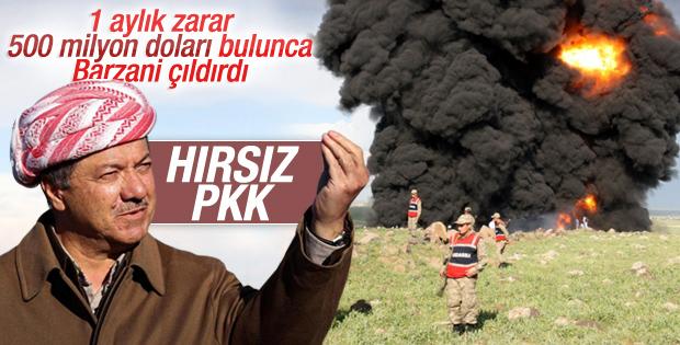 PKK'ya petrol tepkisi