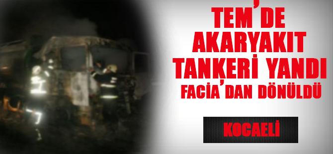 Akaryakıt Tankeri Yandı
