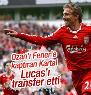 Beşiktaş'tan Lucas Hamlesi