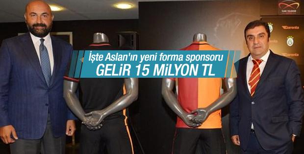 Galatasaray'a yeni sponsordan 15 milyon lira
