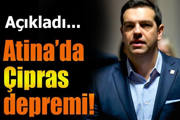 Yunanistanda Çipras Depremi