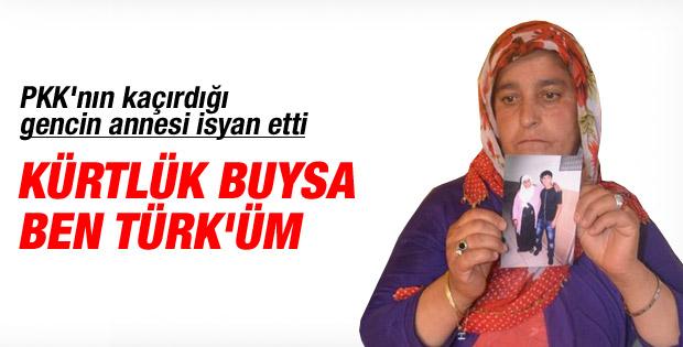 Anneler PKK tarafından kaçırılan çocuklarını istiyor
