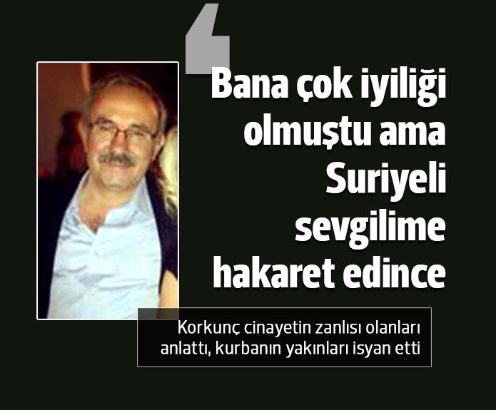 Suriyeli sevgilisi için adam  öldürdü