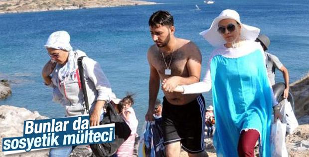 Yakalanan mülteciler polisi şaşırttı