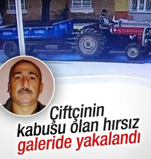 Traktör hırsızı tutuklandı