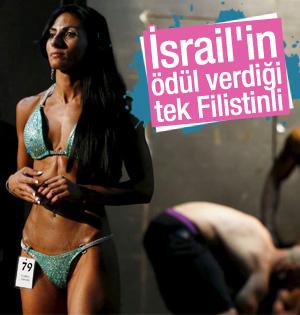 İsrail'de vücut geliştirme yarışmasını Filistinli kazandı