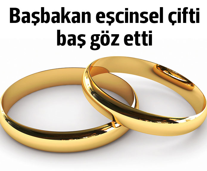 Eşcinseller evlendi