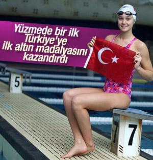 Zeynep Güneş Türkiye'ye ilk madalyasını kazandırdı