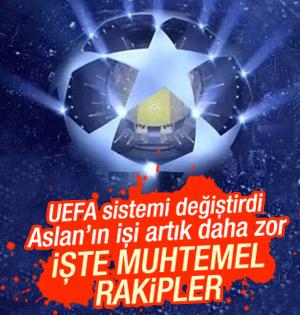 Galatasarayın muhtemel rakipleri