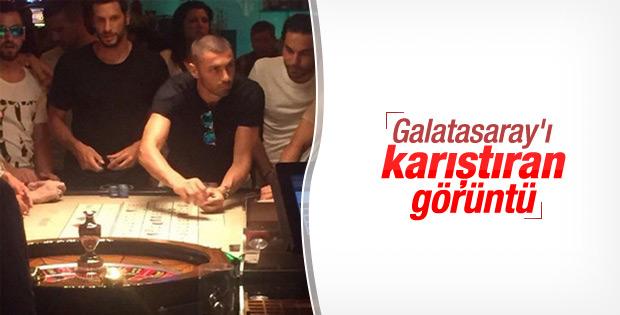 Galatasarayda şok etkisi oluşturan resim