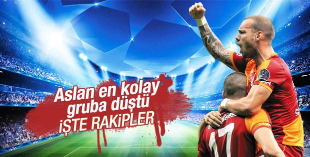 İşte Galatasaray'ın Şampiyonlar Ligi'ndeki rakipleri