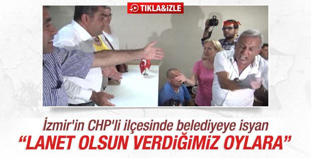 İzmir'de CHP'li belediyeye isyan