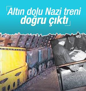 Polonya'da bulunan altın dolu Nazi treni doğru çıktı