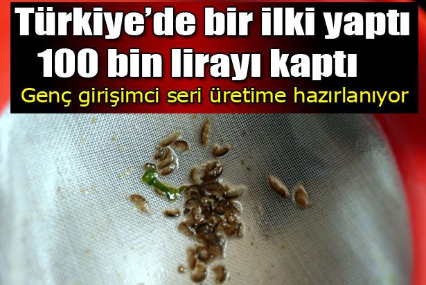 Türkiye'de bir ilki yaptı, 100 bin lirayı kaptı