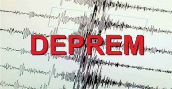 Çanakkale'de 3 büyüklüğünde deprem