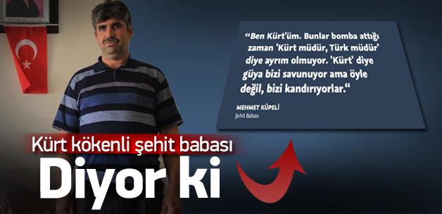 Kürt kökenli şehit ailelerinden PKK'ya tepki