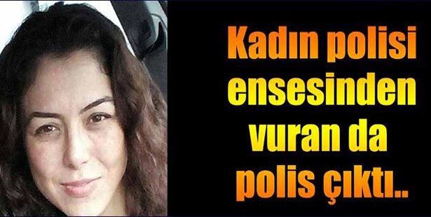 Kadın Polisi Ensesinden Vuran da Polis Çıktı!