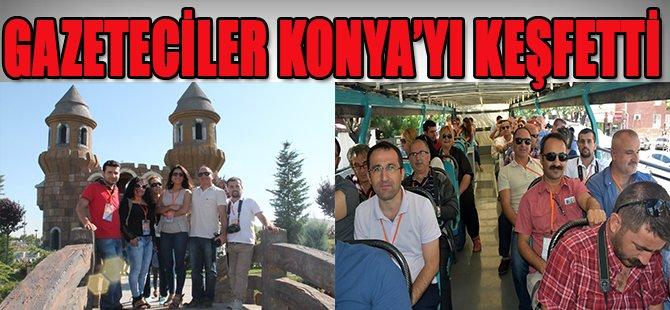 Gazeteciler Konya'yı Keşfetti