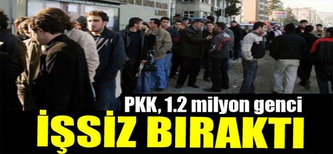 PKK 1.2 Milyon Genci İşsiz Bıraktı!