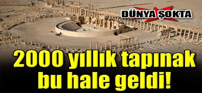 2000 Yıllık Tapınak Bu Halde!