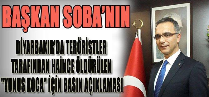Başkan Soba'nın Basın Açıklaması