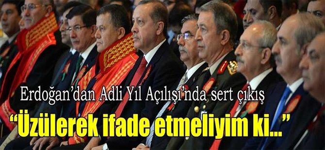 Erdoğan'dan Adli Yıl Açılışına Sert Çıkış!