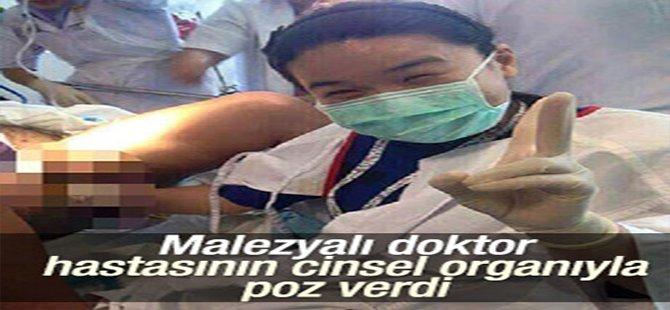 Malezyalı Doktor Hastasının Cinsel Organıyla Poz Verdi!