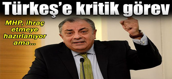 Tuğrul Türkeş'e kritik görev