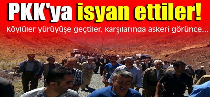 PKK'ya isyan ettiler!