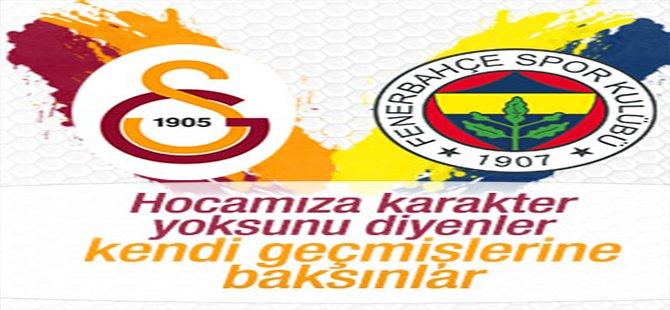 Galatasaray'dan Fenerbahçe'ye 'Karakter yoksunu' cevabı