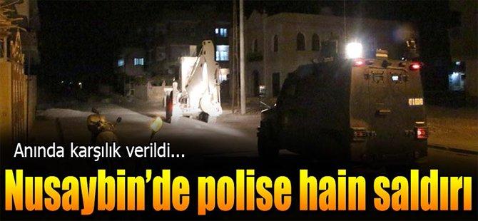 Nusaybin' de Polise Hain Saldırı!