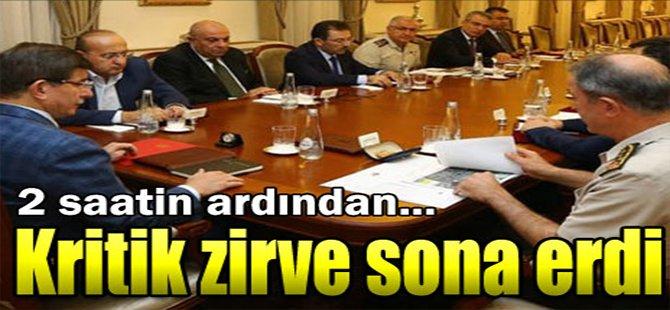 Kritik Zirve Sona Erdi!