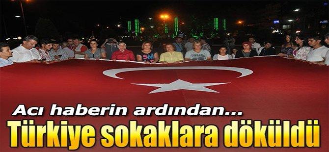 Türkiye Sokaklara Döküldü!