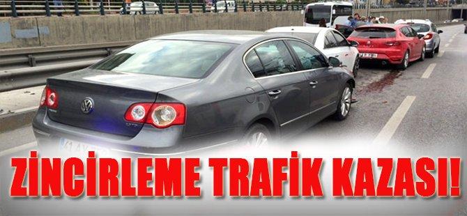 Zincirleme Trafik Kazası!