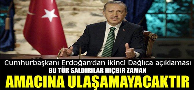 Cumhurbaşkanı Erdoğan'dan ikinci Dağlıca açıklaması
