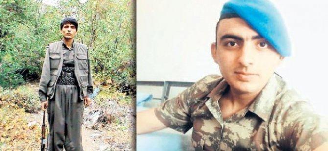 Biri asker oldu diğeri terörist!