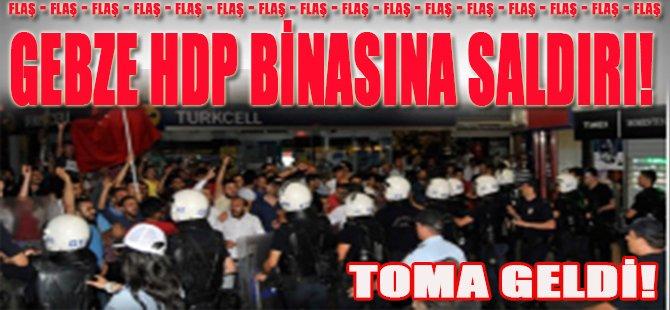 Gebze HDP Binasına Saldırı!
