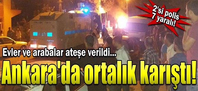 Ankara'nın Beypazarı ilçesi karıştı
