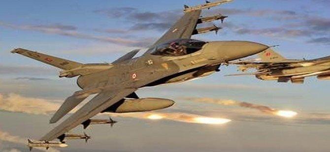 53 savaş uçağıyla operasyon!