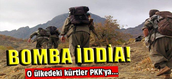 Bomba iddia! O ülkedeki kürtler PKK'ya...