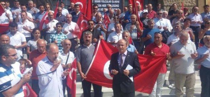 Haydarpaşa Garı'nda terör protestosu