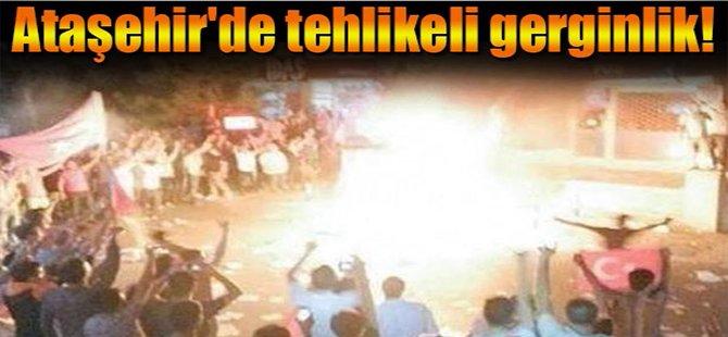 Ataşehir'de tehlikeli gerginlik