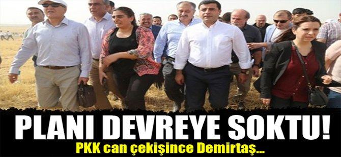 PKK can çekişince Demirtaş...