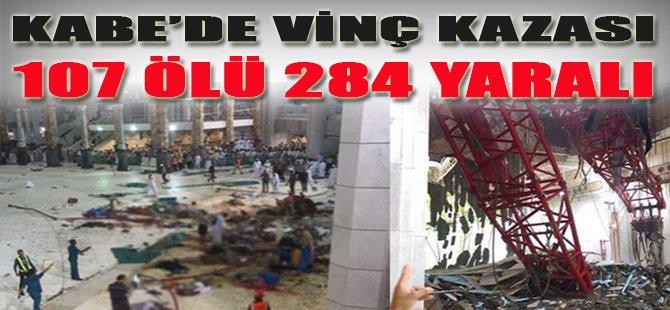 Kabe'de Vinç Kazası, 107 Ölü 284 Yaralı
